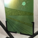 fused-glass-iridescent-and-murrine-in-stand