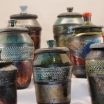 lidded-raku-jars-group-1