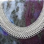 large-chain-maille-collar-on-nuno-felt